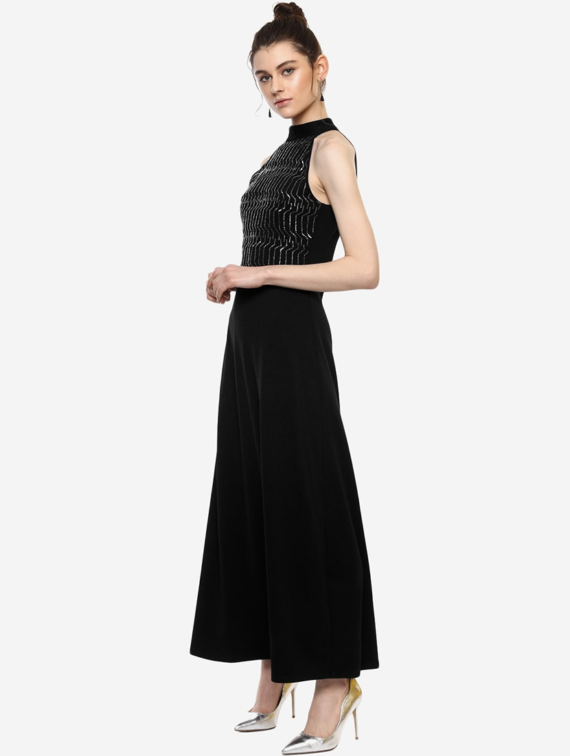 ce4b0b9d591 Buy Geometric Embellished Maxi Dress for Women from Kazo for ₹2644 at 47%  off