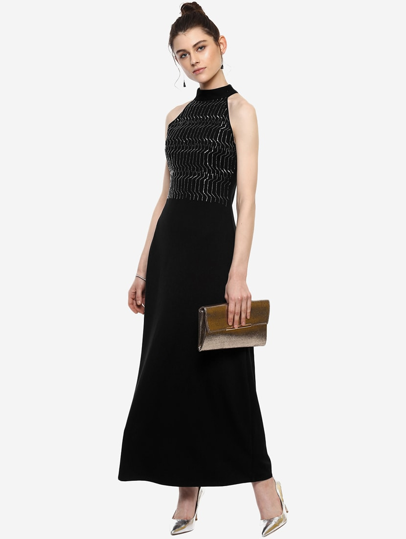 b80a8efa165 Buy Geometric Embellished Maxi Dress for Women from Kazo for ₹2644 ...