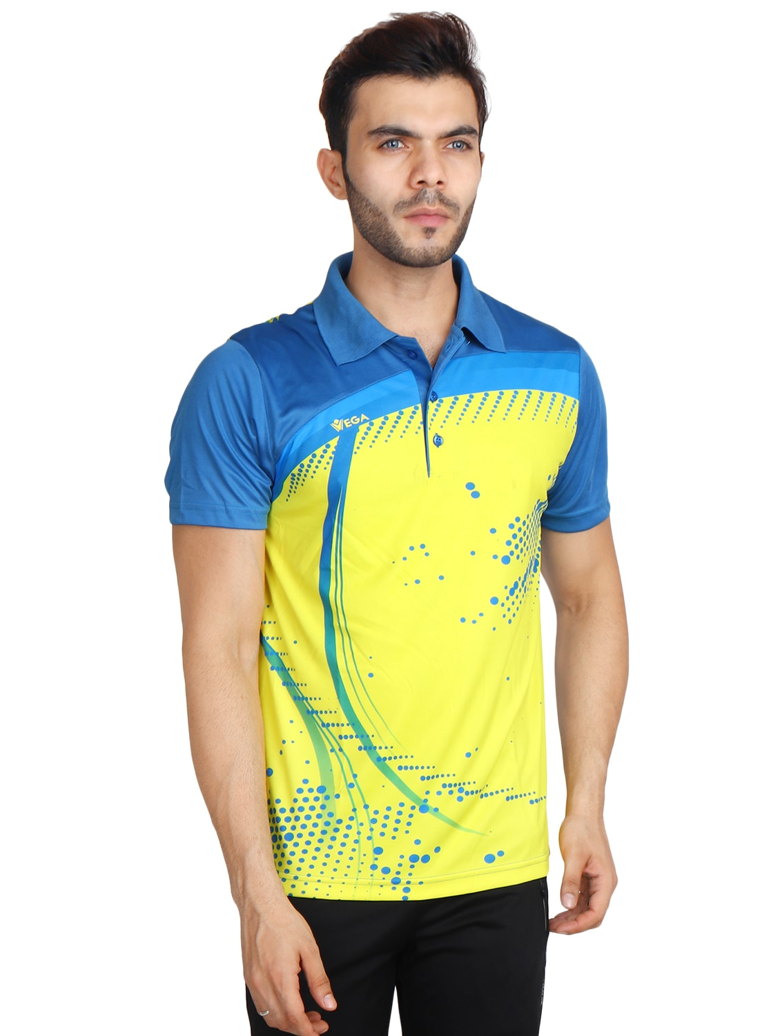 d81c6955 Buy Yellow Polyester Tshirt for Men from Vega for ₹573 at 56% off | 2019  Limeroad.com
