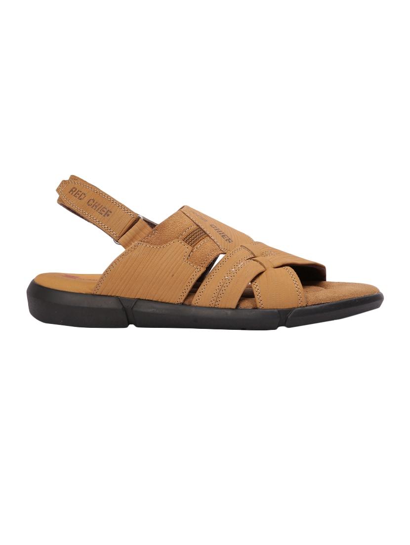 968c0fda7 Buy Red Chief Brown Leather Back Strap Sandals for Men from Red Chief for  ₹1881 at 35% off