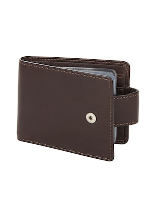 brown leather wallet - 15495224 - Standard Image - 4