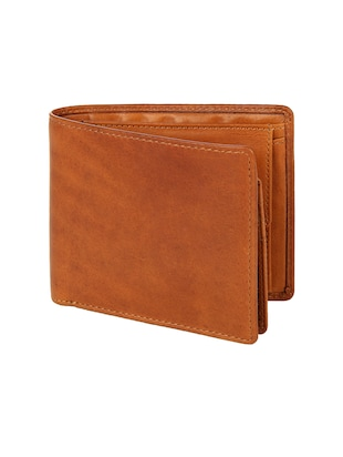 tan leather wallet - 15495267 - Standard Image - 4