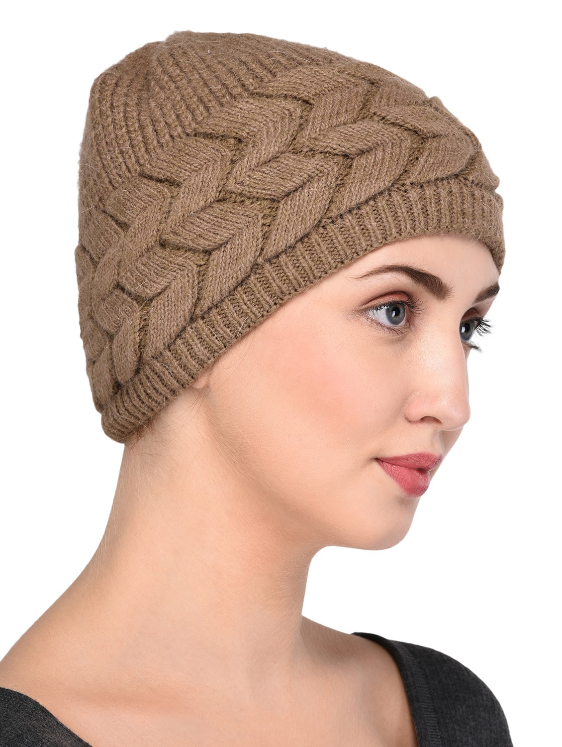Buy Cable Knit Woolen Cap by Warmline - Online shopping for Caps in India  6eb8b433832