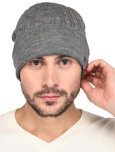 93b56210d3f Buy Black Cotton Caps And Hat by Urban Monkey - Online shopping for ...