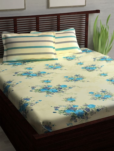 Bed Sheets - Upto 70% Off | Buy Single, Double & King Size