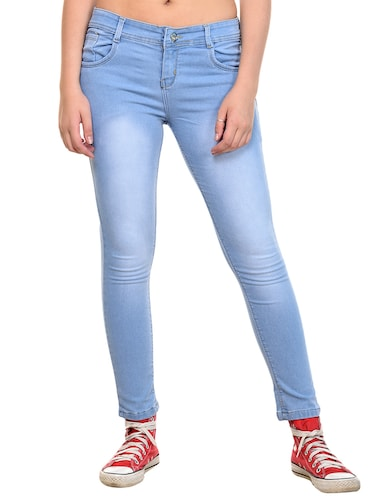 stone washed skinny jeans - 15532860 - Standard Image - 1