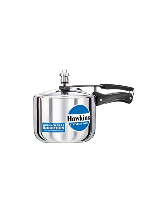 c0e3ee18f Buy Hawkins Stainless Steel 3l (tall Model) Pressure Cooker With Induction  Compatible Base (b33) for Unisex from Hawkins for ₹2623 at 1% off
