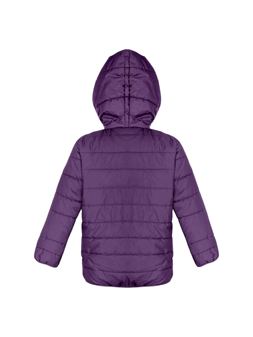 a7ed52cbcdc Purple Polyester Quilted Jacket For Women From Ninos