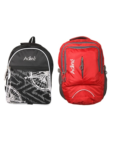 Buy Multi Colored Polyester Backpack by Adidas - Online shopping for ... 95a05afa7bab9