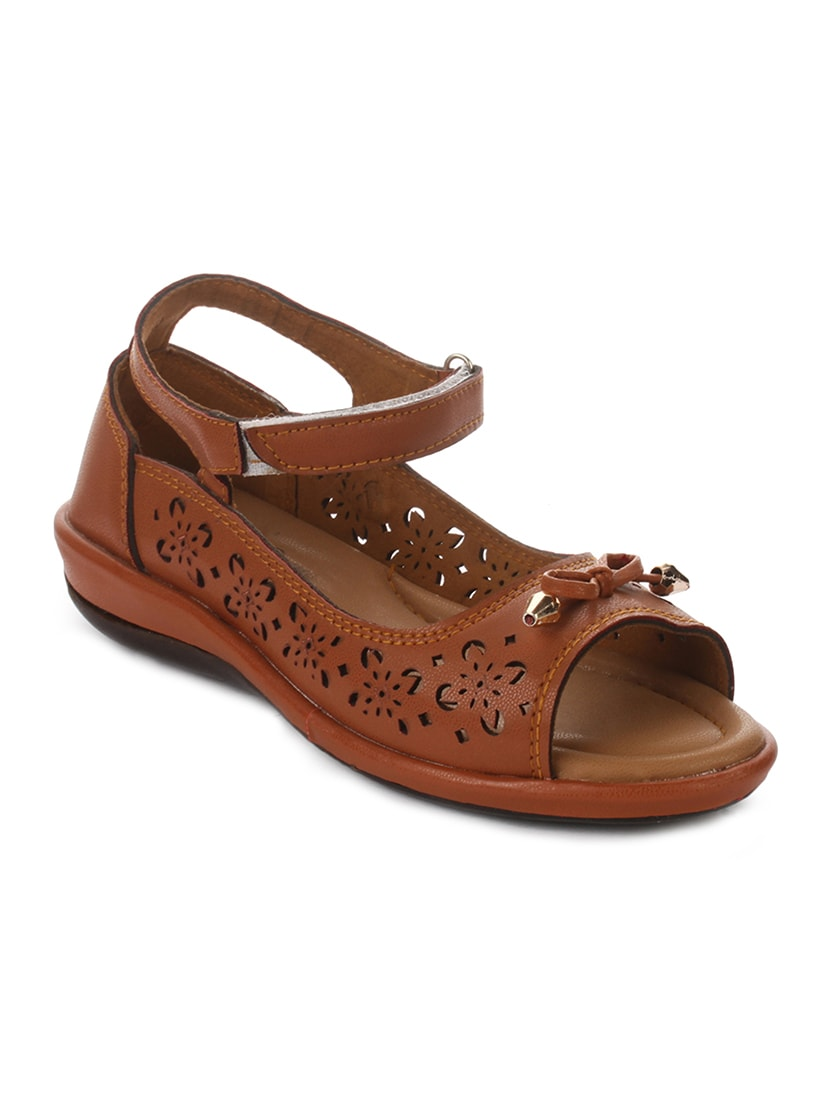 66a1e44af6 Buy Brown Closed Back Sandals for Women from Doctor Soft for ₹600 at 40%  off | 2019 Limeroad.com