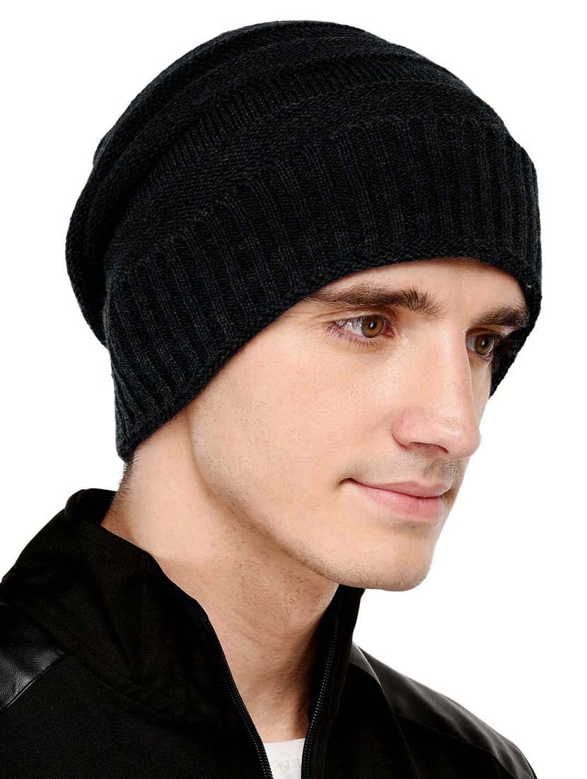 Buy Black Wool Winter Cap by Vr Designers - Online shopping for Caps And  Hats in India  aee9feee5ba