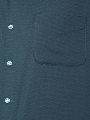 blue cotton formal shirt - 15608588 - Standard Image - 4