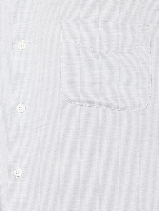 grey cotton blend formal shirt - 15608619 - Standard Image - 4