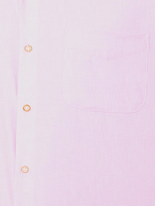 pink cotton blend formal shirt - 15608626 - Standard Image - 4