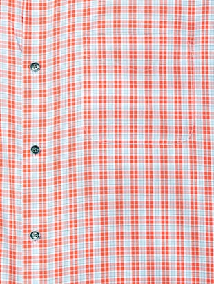 orange cotton blend formal shirt - 15608628 - Standard Image - 4