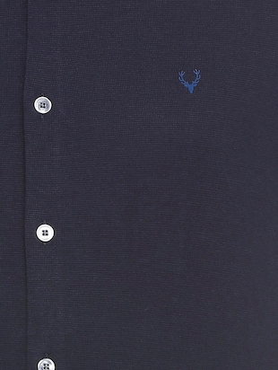 blue cotton casual shirt - 15609415 - Standard Image - 4