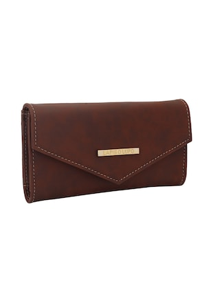 brown leatherette (pu wallet - 15625841 - Standard Image - 4