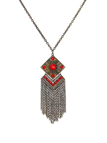 Long necklace - 15643853 - Standard Image - 1
