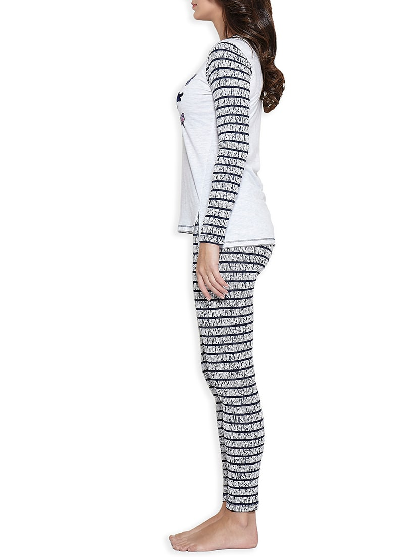 39279cf494c Buy Printed Nightwear Pajama Set for Women from Sweet Dreams for ₹874 at  50% off