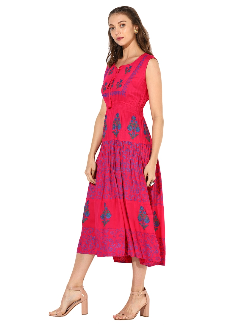 d965ae5bf51f Buy Printed Flared Dress for Women from Zoeyam s for ₹958 at 52 ...