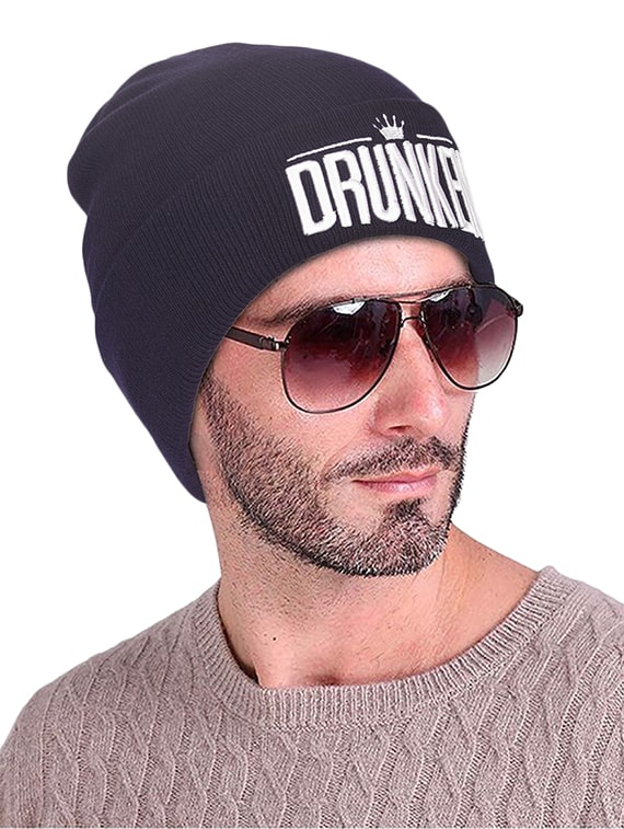 Buy Blue Wool Beanies Cap by Drunken - Online shopping for Caps And Hats in  India  dbab425b580