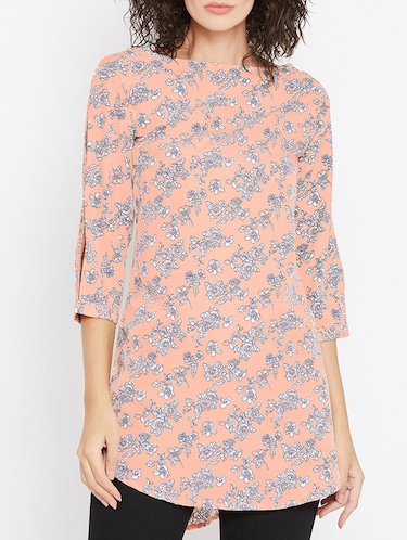 440ef4d5aa3 Buy Green Rayon Printed Tunic for Women from Goodwill for ₹400 at ...