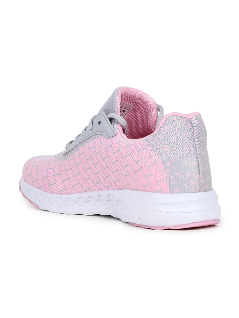 Pink Lace Up Sports Shoes By Refoam Online Ping For In India 15657230