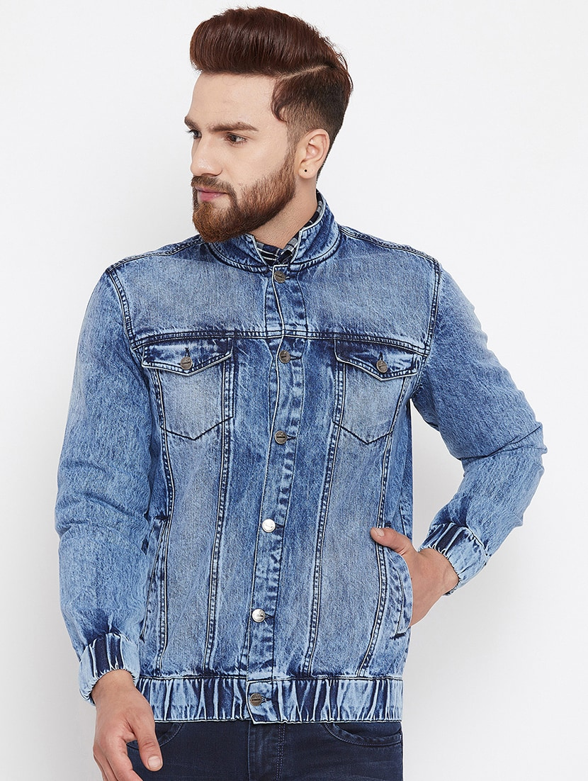 20fef00298c Buy Blue Denim Jacket for Men from Canary London for ₹1579 at 34% off