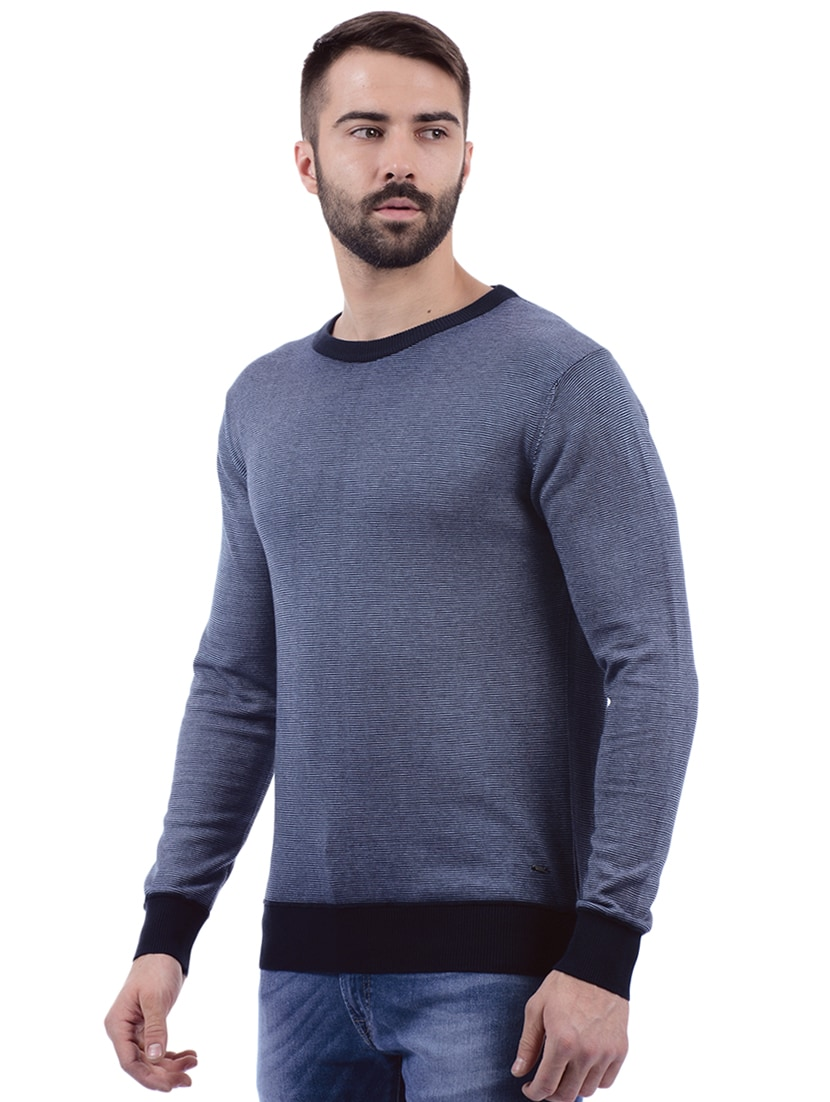 8b1ddc9335 Buy Blue Cotton Pullover by Pepe Jeans - Online shopping for Pullovers in  India