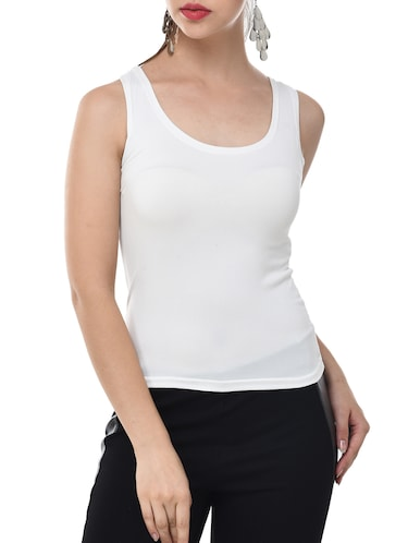 4cd28517205c8 Buy sleeveless t shirt for women under rs 300 in India   Limeroad