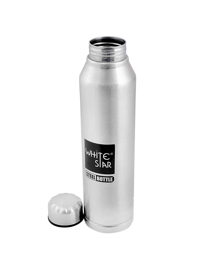 eb6eef30ded Buy Stainless Steel Sipper Fridge Water Bottle-set Of 2-1000 Ml ...