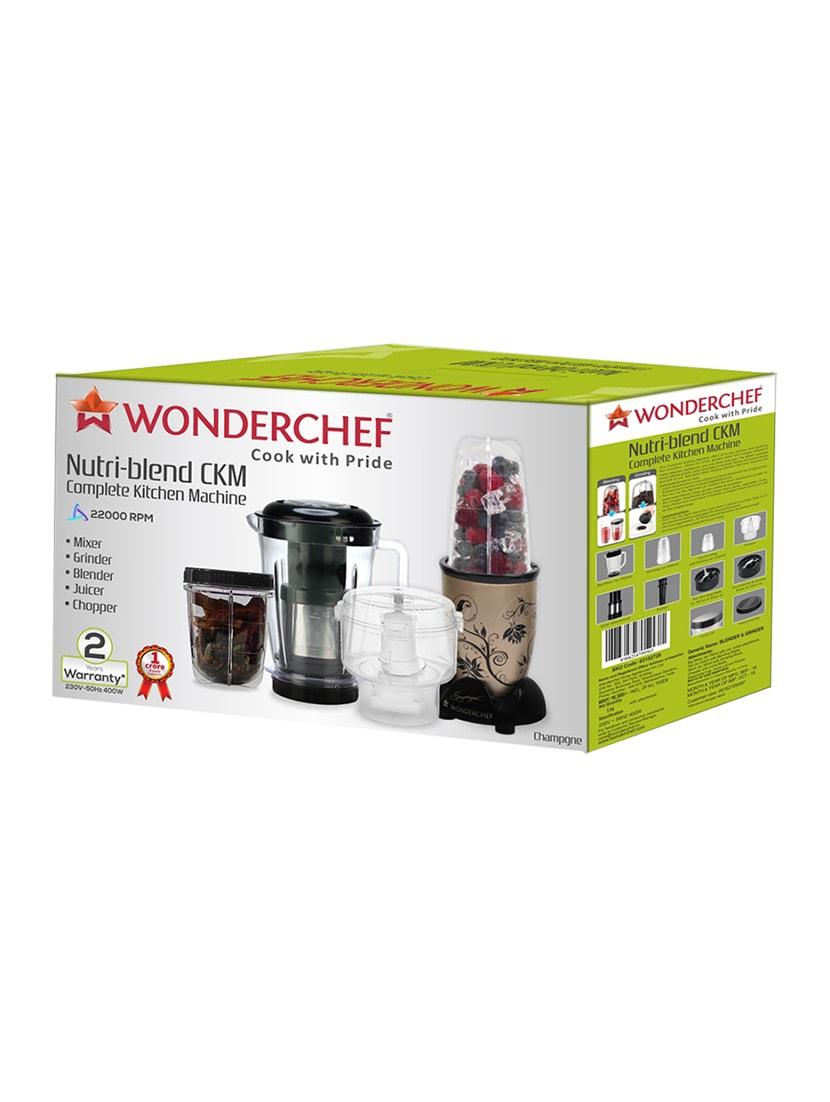 4243ef692 Buy Wonderchef  nutri-blend Ckm Champagne for Unisex from Wonderchef for  ₹3999 at 38% off