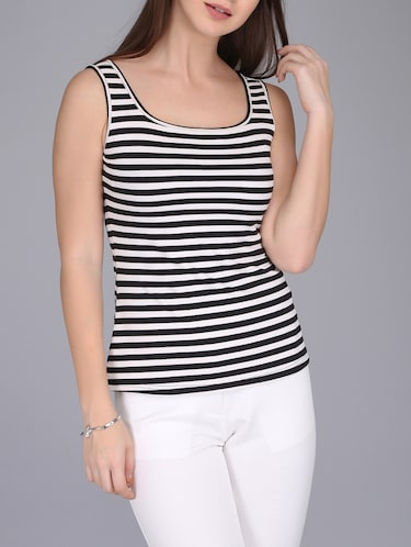 fc63f9dc1f9a5 Buy white tank tops for women in India   Limeroad