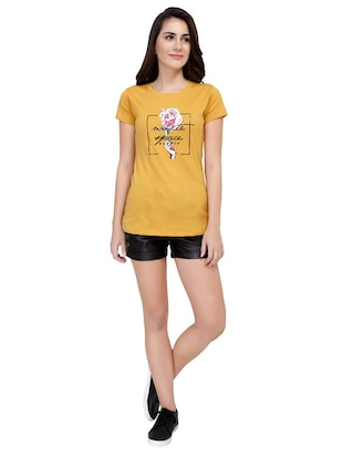 Graphic Print Short Sleeved Tee - 15726879 - Standard Image - 4