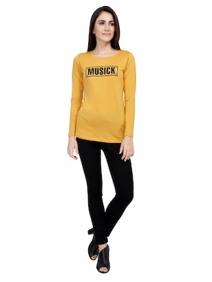 Graphic Print Long Sleeved Tee - 15726919 - Standard Image - 4