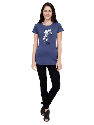 Graphic Print Short Sleeved Tee - 15726940 - Standard Image - 4