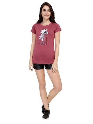 Graphic Print Short Sleeved Tee - 15726942 - Standard Image - 4