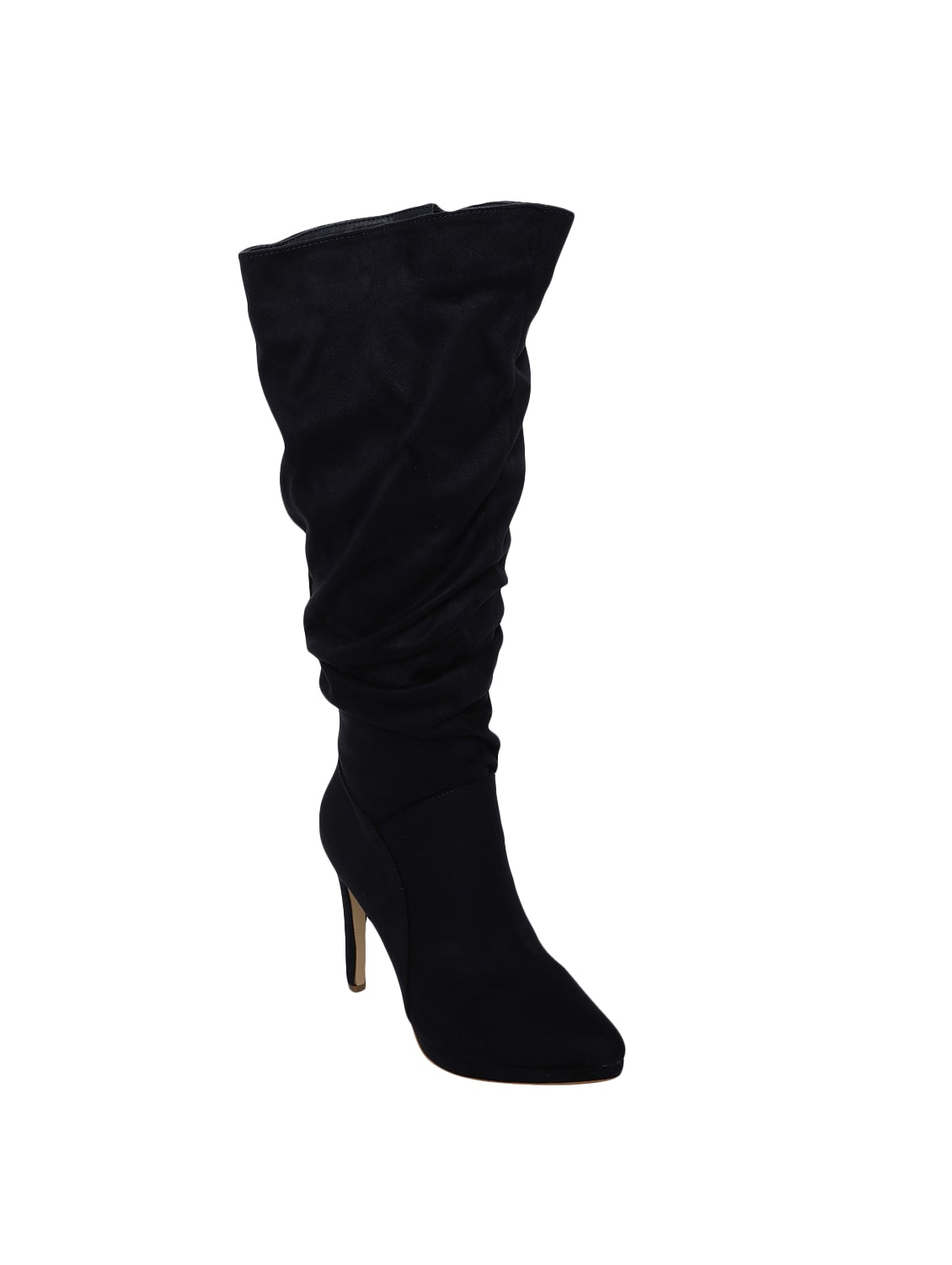 Buy online Navy Knee Length Boots from