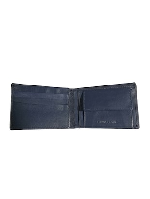 navy blue leather wallet - 15731530 - Standard Image - 4