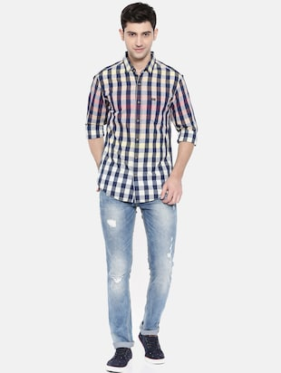 multicolor cotton casual shirt - 15731545 - Standard Image - 4