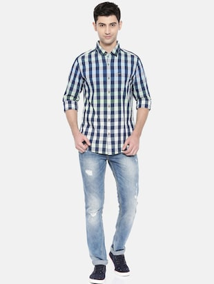 Multicolor cotton casual shirt - 15731546 - Standard Image - 4