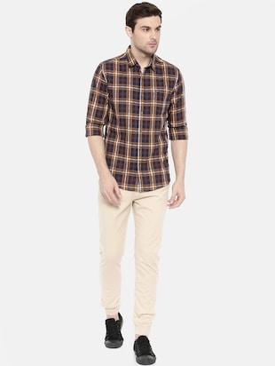 multicolor cotton casual shirt - 15731595 - Standard Image - 4
