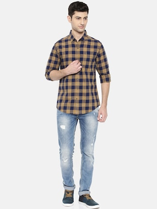 multicolor cotton casual shirt - 15731602 - Standard Image - 4