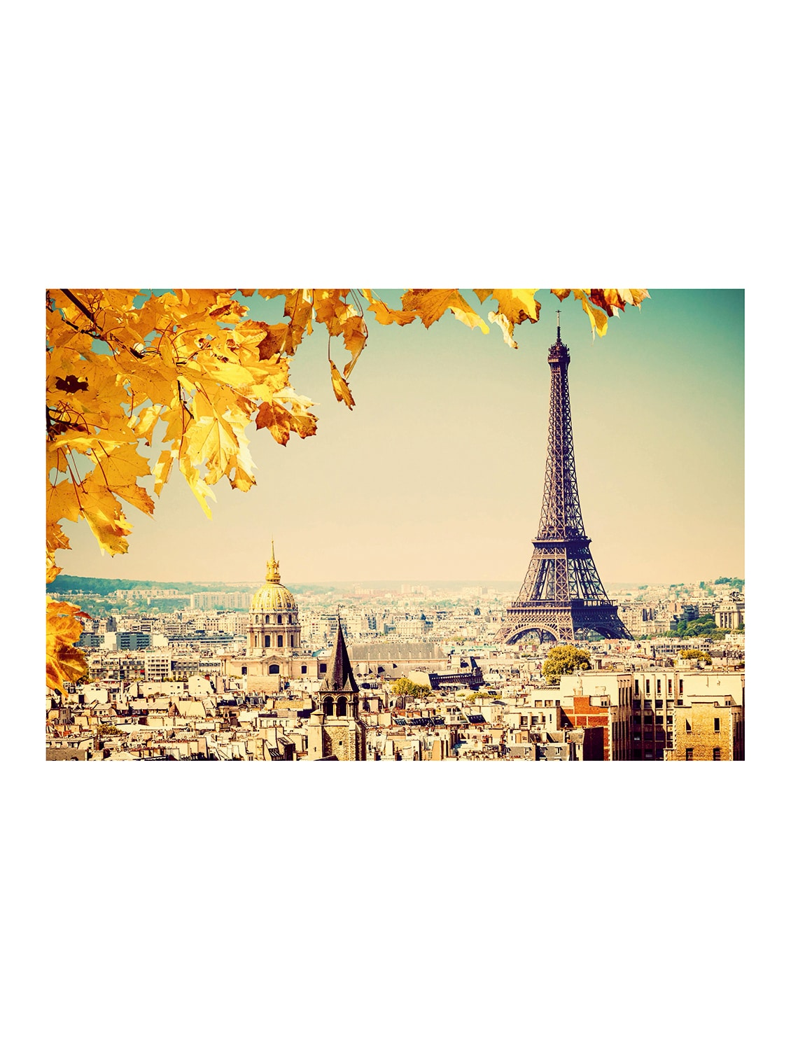 Buy Online Rawpockets Paris In The Fall Wallpaper Wall Posters