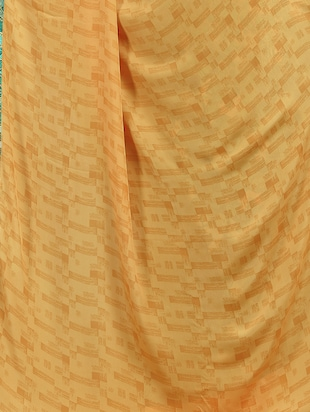 geometrical half and half saree with blouse - 15735030 - Standard Image - 4