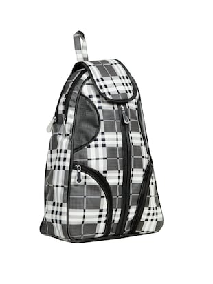 black leatherette (pu) fashion backpack - 15737546 - Standard Image - 4