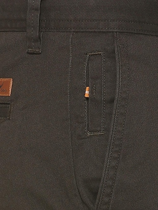 brown cotton chinos - 15737584 - Standard Image - 4