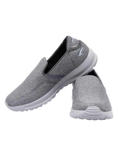 grey Mesh slip on sport shoes - 15739503 - Standard Image - 1