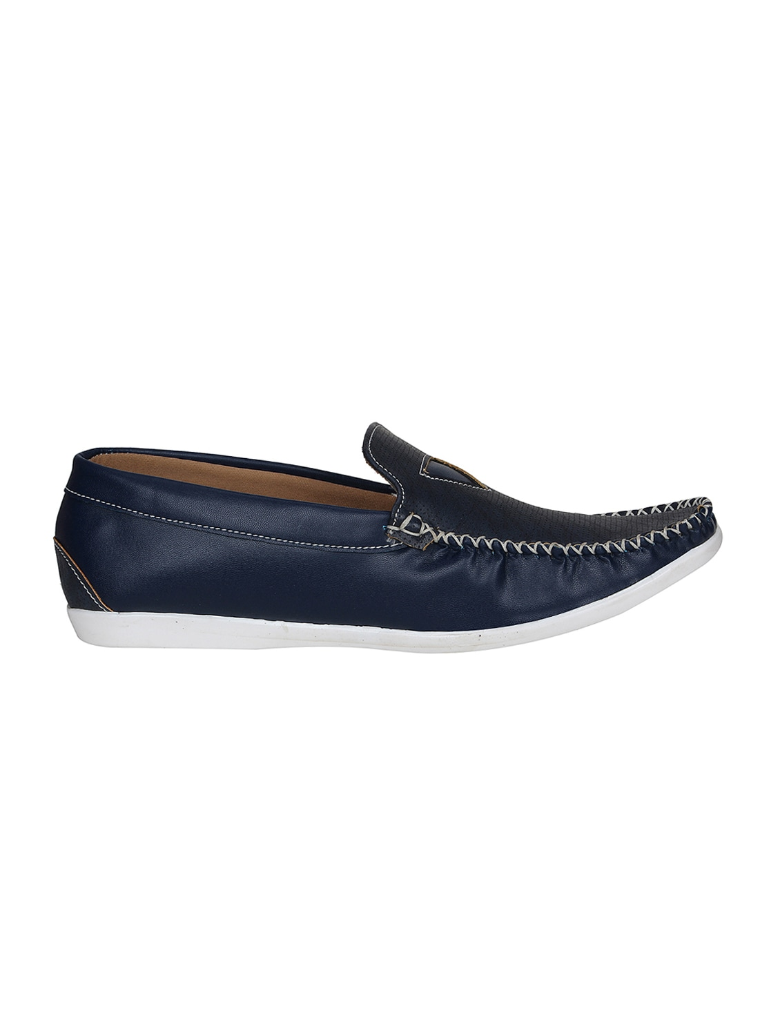 965acc451f9 Buy Blue Leatherette Slip On Loafers for Men from Romeo for ₹500 at 50% off