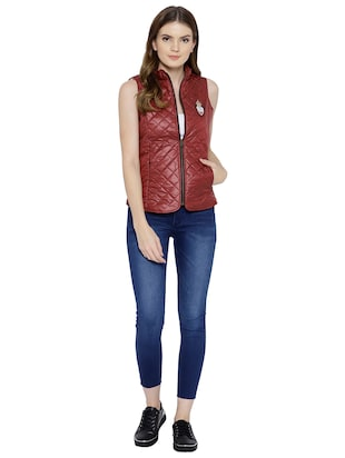 quilted & padded sleeveless jacket - 15748098 - Standard Image - 4